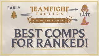THE BEST TEAM COMPS FOR RANKED! | Teamfight Tactics Set 2 Guide