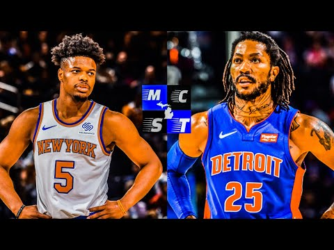 Detroit Pistons Aquire Dennis Smith Jr & 2nd Rd Pick From New York Knicks For Derrick Rose!!!