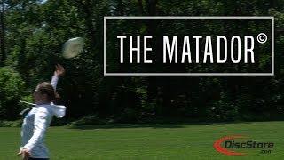 Ultimate Frisbee Throw: The Matador