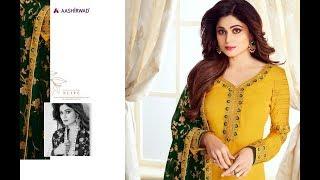 Latest Indian Dresses Collection 2019 || Aashirwad Creation || Aashirwad Mahira 2