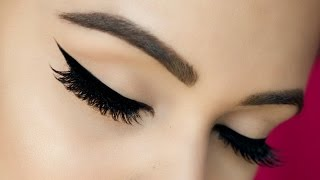 How To: Perfect Winged Eyeliner Tutorial | BeautywithTashy