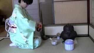 Japanese Tea Ceremony NYC_FuroTemae_1