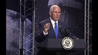 VP Mike Pence speech at the 2017 Astronaut Selection Announcement. June 7, 2017.