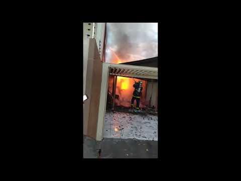 Loja em residência é consumida por incêndio em Altônia