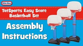 TotSports EasyScore Basketball Set | Little Tikes | Assembly Instructions Video