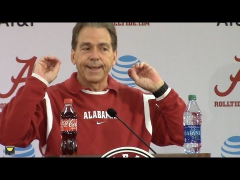 Nick Saban on college players sitting out bowl games