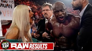 Lana & Bobby Lashley Arrested! Rollins Heel Turn Canceled? WWE Raw Review & Full Results 12/2/19