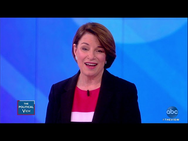 Sen Amy Klobuchar Addresses Reports Of Staff Mistreatment The View