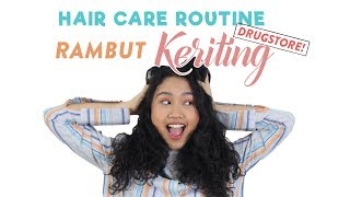 Gambar cover Hair Care Routine untuk Rambut Keriting