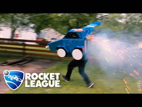 I made a real life Rocket League car (cosplay)