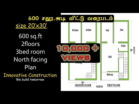 Download 25 X 34 House Plan North Face Video 3GP Mp4 FLV HD