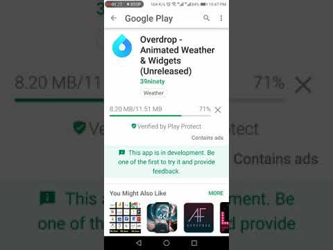 Best Weather App – Over Drop app Review in Urdu /Hindi