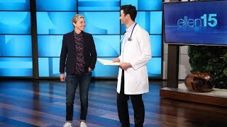 Ellen Gets a Pre-Birthday Checkup from Two Very Reliable Doctors - Video Youtube