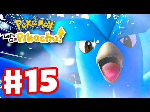 Legendary Pokemon Articuno! – Pokemon Let's Go Pikachu and Eevee – Gameplay Walkthrough Part 15