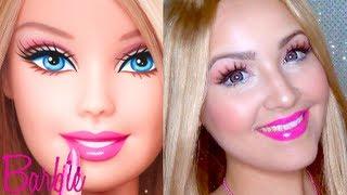 Barbie Makeup for Halloween ♡