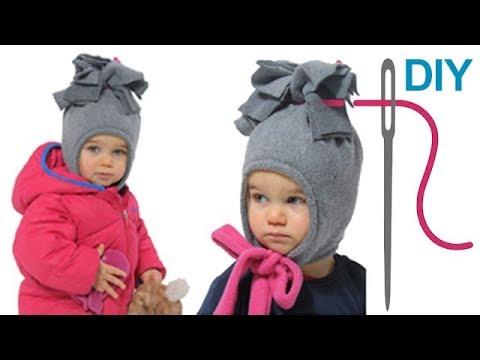 Wintermütze, schnelle Mütze, Kindermütze, einfache Mütze nähen