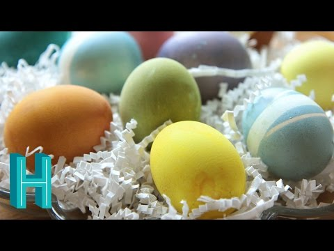 Natural Easter Egg Dyes! Hilah Cooking