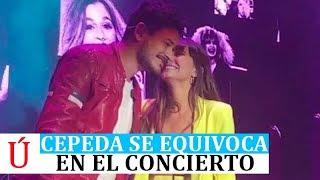 Cepeda se equivoca en No Puedo Vivir Sin Ti con Aitana en el concierto Valladolid Operación Triunfo