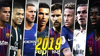 Best Football Skills Mix 2019 ● Messi • Neymar • Ronaldo • Mbappé • Bale • Hazard ● HD