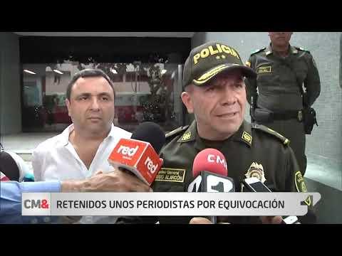 Periodistas de El Heraldo fueron detenidos por miembros del Esmad en Barranquilla