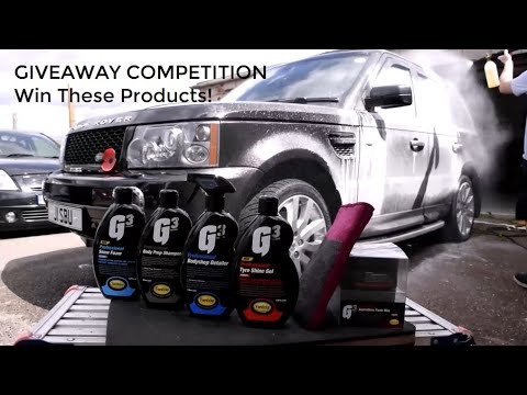 G3 Professional Detailing Products Review + GIVEAWAY!