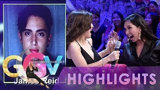 "GGV: Nathalie and Roxanne yell at seeing James Reid's picture in ""Wititit or Keriboomboom"" game"