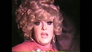 Lady Bunny in a taste of Bunny 1999 Doll House theater Boston Ma