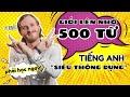 GIỎI LÊN NHỜ 500 từ vựng tiếng Anh thông dụng qua hình ảnh | Learn English vocabulary via image