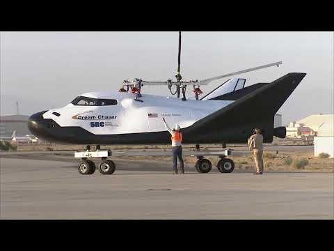 Una prueba de un futuro vehículo espacial