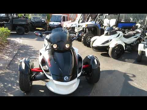 2014 Can-Am Spyder® RS-S SM5 in Sanford, Florida - Video 1