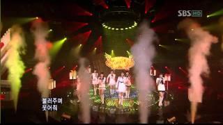 Girls' Generation (SNSD) - SBS Kissing You Live 1080p