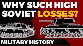 Barbarossa: Why such high Soviet Losses? - Explained