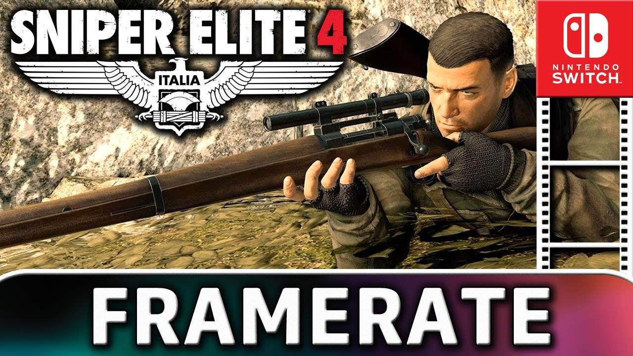 Sniper Elite 4 | Nintendo Switch Frame Rate Test