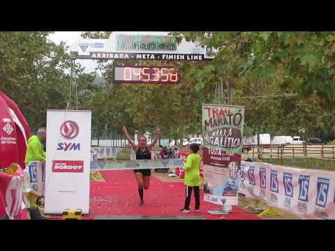Llegada campeona 42km