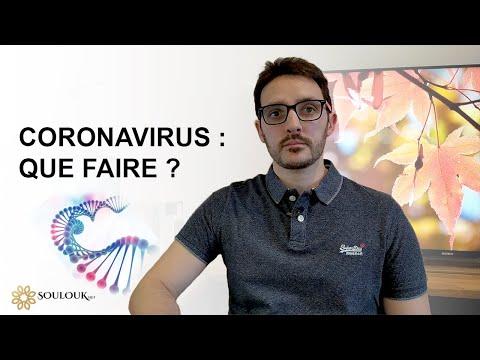 Coronavirus #1 : Que faire ?