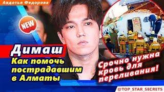 🔔 Димаш Кудайберген. Как помочь пострадавшим в Алматы, срочно нужна кровь для переливания!