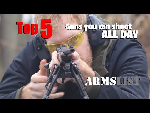 Top 5: Fun guns you could shoot ALL DAY!