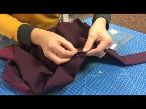 2 geniale Ideen für Bundabschlüsse am Sweatshirt 01