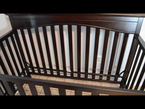 Graco Hayden Convertible Crib and Serta Mattress Review