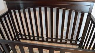 Graco Hayden Convertible Crib and Serta Mattress Review