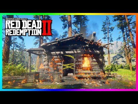 Exploring A SECRET Mineshaft In Red Dead Redemption 2 To