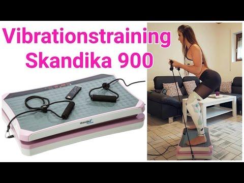 Vibrationsplatte Skandika 900 - Workout mit der Vibrationsplatte