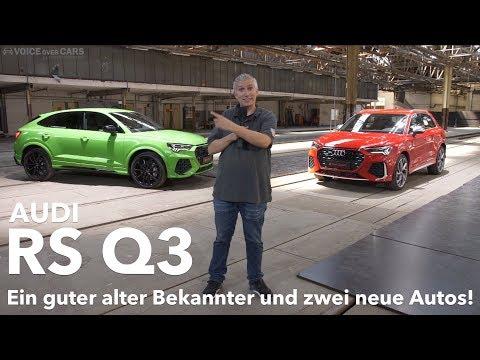 10 Fakten zum neuen Audi RS Q3 Sportback Beschleunigung Sound Motor Infos Sitzprobe