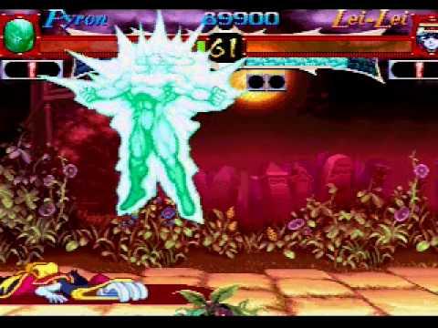 Vampire Hunter Saturn
