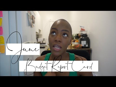 Budget Report Card June 2019 | How to Get Out of Debt | STACEY FLOWERS