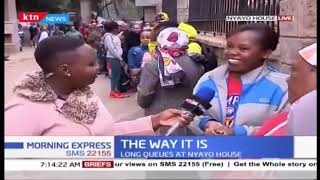 Lady travels from Kitale for new passport, as Kenyans try to acquire E-passports ahead of deadline