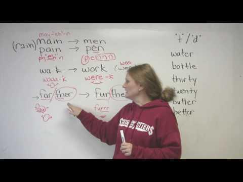 English Pronunciation - 4 Common Mistakes