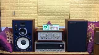 Cùng anh em test loa JBL 4307 Studio Monitor (USA) hay tuyệt vời. Fb : 094 26 26 836.