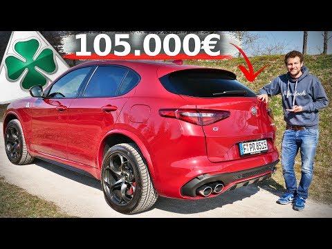 Ein SUV mit 510 PS! ALFA ROMEO STELVIO QUADRIFOGLIO 2019 | Fahr doch