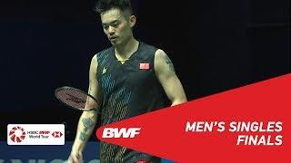 F | MS | CHEN Long (CHN) [4] vs LIN Dan (CHN) | BWF 2019
